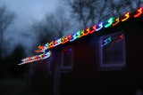 trippy christmas lights