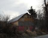 barn of three colors