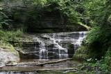 falls along trail buttermilk