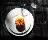 halloween dinner setting