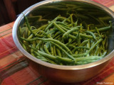last of the greenbeans