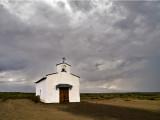 Chapel in the desert, west of Comstock, Texas