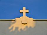 Cross of Marfa #1 at sunrise