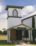 Church and windmill, Marathon Texas #3