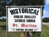 Worlds Smallest Catholic Church
