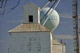 Odell IL - Water Tower Rising
