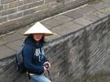 Marissa goes local at the Great Wall