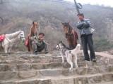 Village locals near Mutianyu Great Wall