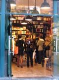a popular campus bookstore at Fudan U. in Shanghai