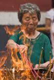 Devotion at the Lama Temple - Beijing