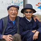 Two men in a Bai-village near to Dali