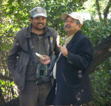 Our guide Ansar and his father