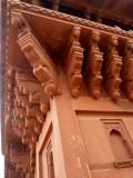 Hand-carved sandstone
