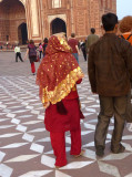 Indian attire:  Salwar-kameez