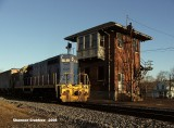 BB 9 heading by the Gordonsville Tower