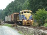 BB Z799 heads west from Louisa near Gordonsville.