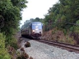 Amtrak 51 again at Keswick crossing.   Nothing more than a grap shot.  I was surprised I caught him again!