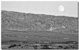 Moon over Stovepipe Wells