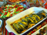 Peruvian Peppers Stuffed with Cheese and Beans