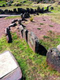 Burial Circles In Sacred Sillustani