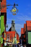 Colourful Dinkelsbuhl