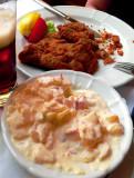 German Classic, Schnitzel with Potato Salad, Stutgart
