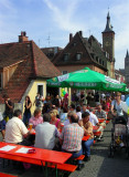 Busy Streets of Wurzburg