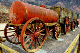 Workers Wagon in Salt Mine