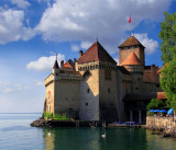 Castle Chillon, Montreaux , Switzerland