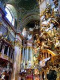 Baroque Church in Vienna, Austria