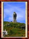 Eagle in Alps,  Monument For Fallen in First World War Swiss Soldiers
