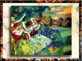 Impressionism by Edgar Degas,-Dancers