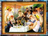 Impressionism By Auguste Renoir- Luncheon On Boat