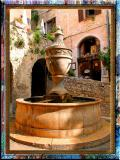 Charming Fountain In St.Paul, Provence