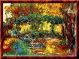 Impressionism By Claude Monet- Japanese Bridge