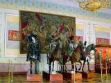 Medieval Armor In Hermitage, St.Petersburg