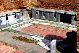 Roman Public Toilet in Ostia