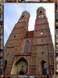 Towers Of Frauenkirche, Munchen