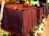 Old Mining Vagons