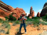 Now You Know  Who Chieseled All These Goddam Canyons !