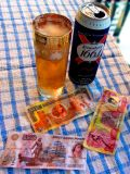 That day I had right currency to pay for beer !