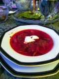 Try classic Russian borsch... You will never switch to marijuana again !