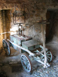 XV Century Fire Truck :-)  in Chillon Castle ,  Switzerland