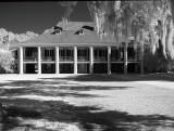 Destrehan Manor in Infrared