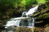 Midway Falls in Early Fall National Forest tb0927krx.jpg