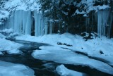 Icy Splinter of Mountain Winter