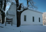 North View Hinkle Mtn Church Frosty Morning tb0211kbr.jpg