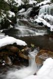 Mid Windy Run Multiple Water Falls Winter v tb0111lsr.jpg