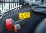 waarschuwing elektric