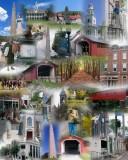 Bennington VT collage